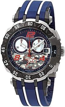 Tissot Blue Dial Chronograph Quartz Men's Watch