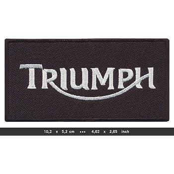 RG20 /Écusson thermocollant pour Moto Motif Triumph