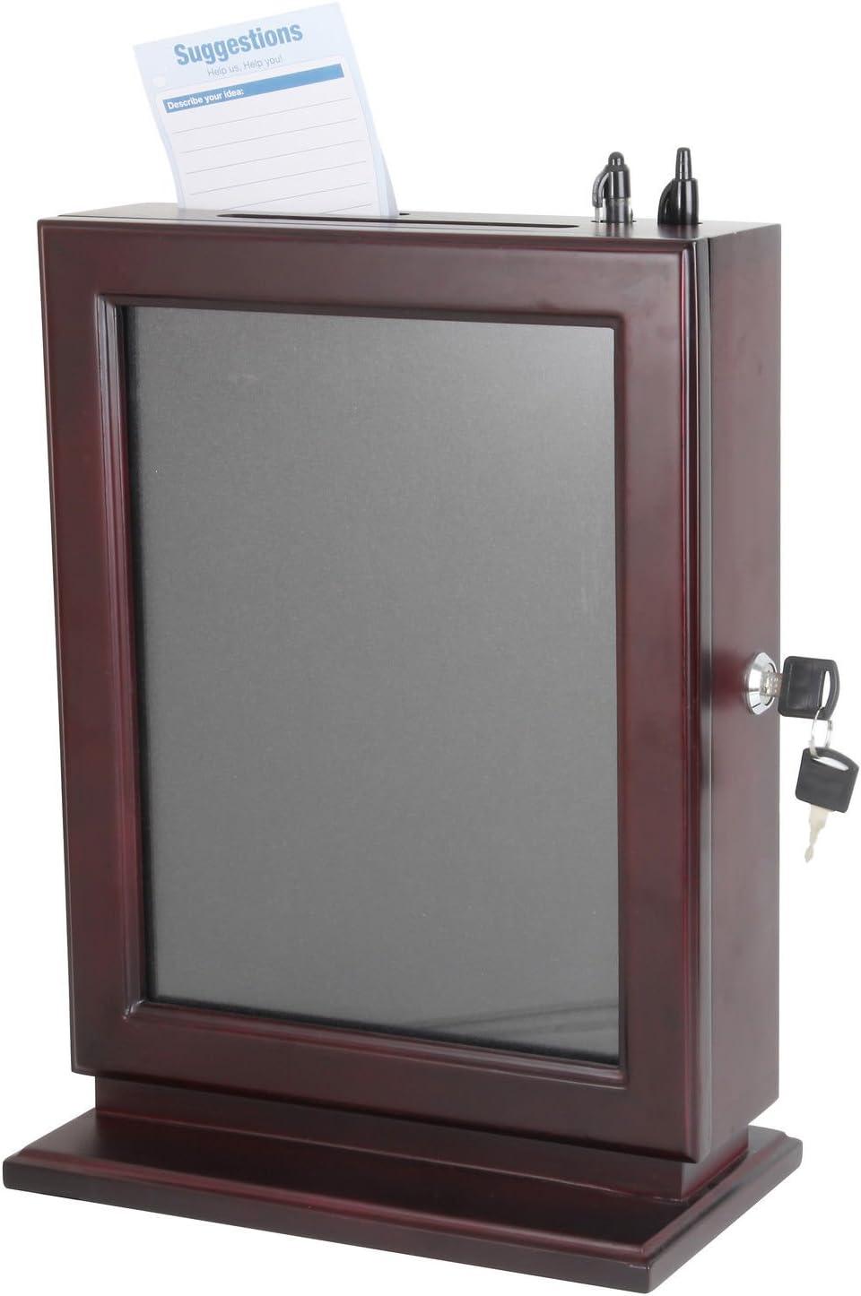 Phoenix Mall FixtureDisplays Max 43% OFF Wood Collection Box Suggestion Char Donation
