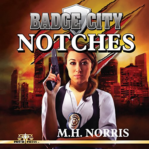 Badge City: Notches audiobook cover art