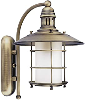 Applique Lampe Luminaire Murale Lanterne Intérieur Style Maison de Champagne Bronze 7991n