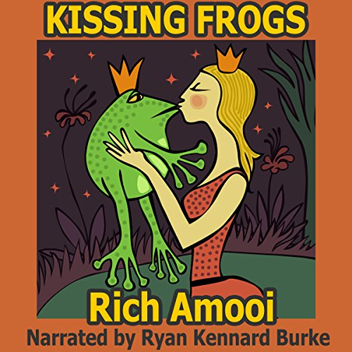 Kissing Frogs audiobook cover art