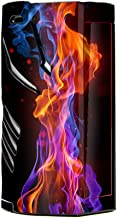 Skin Decal Vinyl Wrap for Smok T-Priv 3 Kit 300w TC Vape skins stickers cover/ Neon Smoke blue, orange, purple