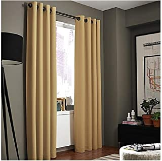 Kenneth Cole Reaction Home Gotham Grommet Lined Panel in Amber 95