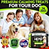 Hemp Calming Treats for Dogs - Helps Keep Your Dog Calm And Relaxed - Separation - Storms - Fireworks - Aggressive Behavior - Natural Calming Aid - Hemp Oil for Dogs - 170 Soft Chews - Made in USA #4