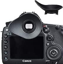 JJC Eyecup Eye Cup Eyepiece Viewfinder for Canon EOS 1DX Mark II / 1DX / 1Ds Mark III / 1D Mark IV III / 5D Mark IV / 5D Mark III / 5DM4 / 5DM3 / 5DS / 5DSR / 7D Mark II / 7D Replaces Canon Eyecup Eg