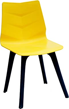PP Chair Modern WFH Study Chair, Shell Lounge Chair for Dining Chair for Home, Office, Bedroom- Kitchen, Living Room (Arctic