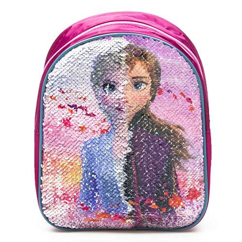 Disney Frozen 2 Mochila con lentejuelas 24 cm Reversible Anna