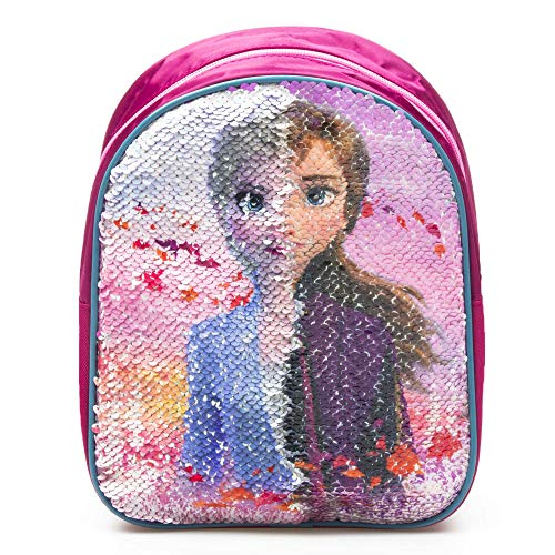 Disney Frozen 2 Zaino con ON Paillettes 24 CM Reversibile Anna
