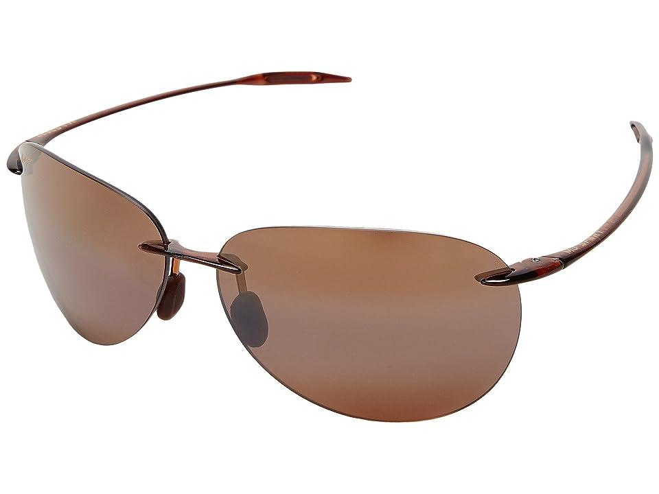 Maui Jim Sugar Beach (Rootbeer/HCL Bronze Lens) Sport Sunglasses