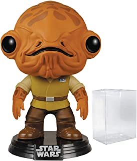 Star Wars: The Force Awakens - Admiral Ackbar Funko Pop! Vinyl Figure (Includes Compatible Pop Box Protector Case)