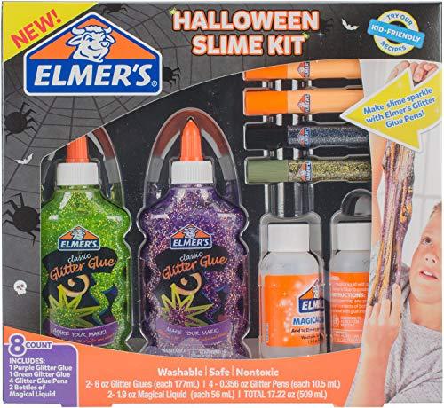 Elmer's Halloween Slime Kit Washable School Glue