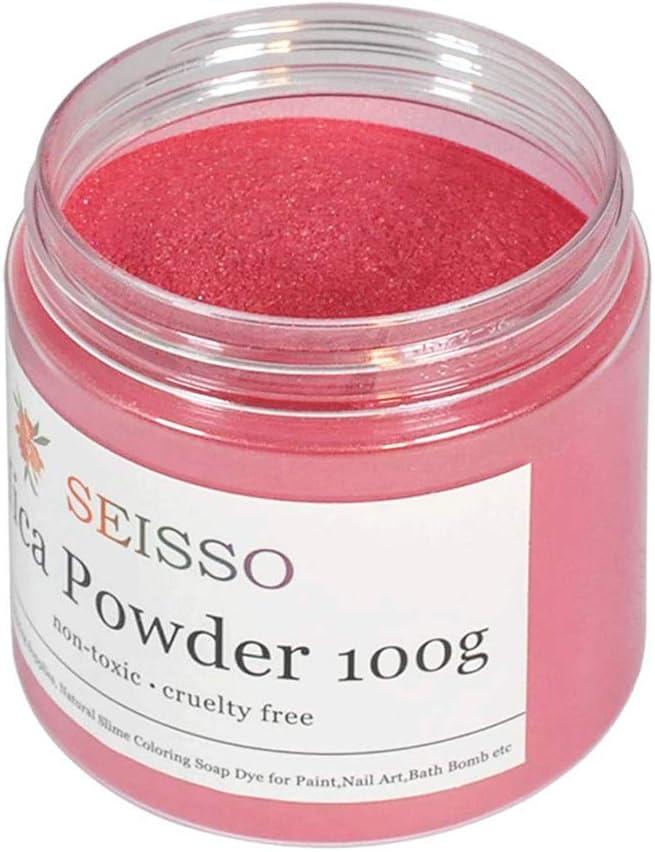 pigmento metálico p/fabricación jabón en frio 100 gr rosa