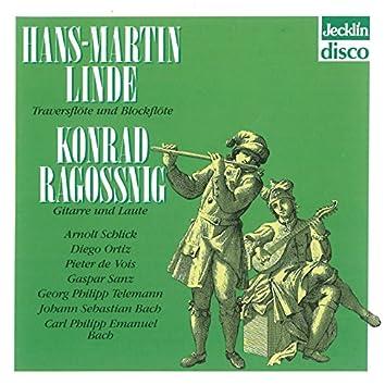 Hans-Martin Linde & Konrad Ragossnig: Musik für Flöte und Gitarre