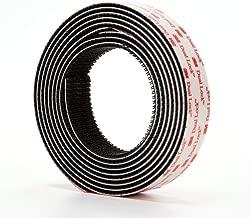 3M Dual Lock Reclosable Fastener SJ3550 250 Black, 1 in x 4 Ft