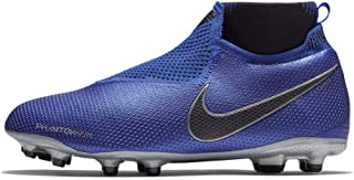 Official Nike Phantom Vision Elite DF FG Firm Ground Football Boots Juniors Soccer Cleats