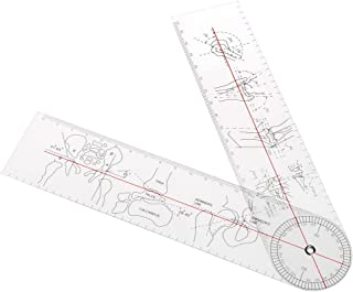 Huilier Goniometer Angle Medical Ruler Rule Joint Orthopedics Tool Instruments Plastic