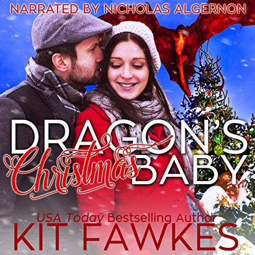 Dragon's Christmas Baby audiobook cover art
