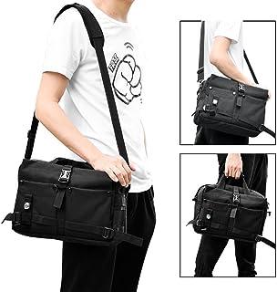 zrse Compass Tactical Computer Bag Multifunction Mens Military Laptop Handbags Outdoor Nylon Shoulder Messenger Black