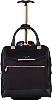 Women's Albany Softside Luggage, Suitcase Collection (Black, Carry-On 17-Inch)