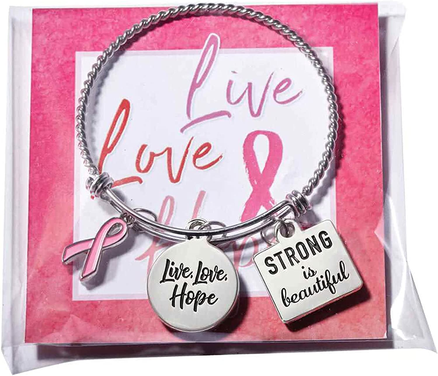 Same day shipping Expandable Bangle Bracelet for Women Stainless Fort Worth Mall Bracelets Charm -