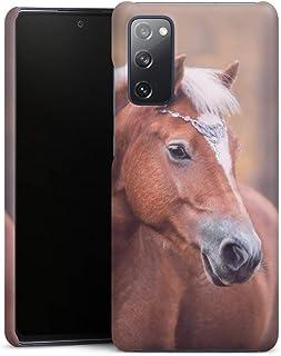 Premium Case compatibel met Samsung Galaxy S20 FE Telefoonhoesje Smartphonehoesje Portret Paard Fotografie