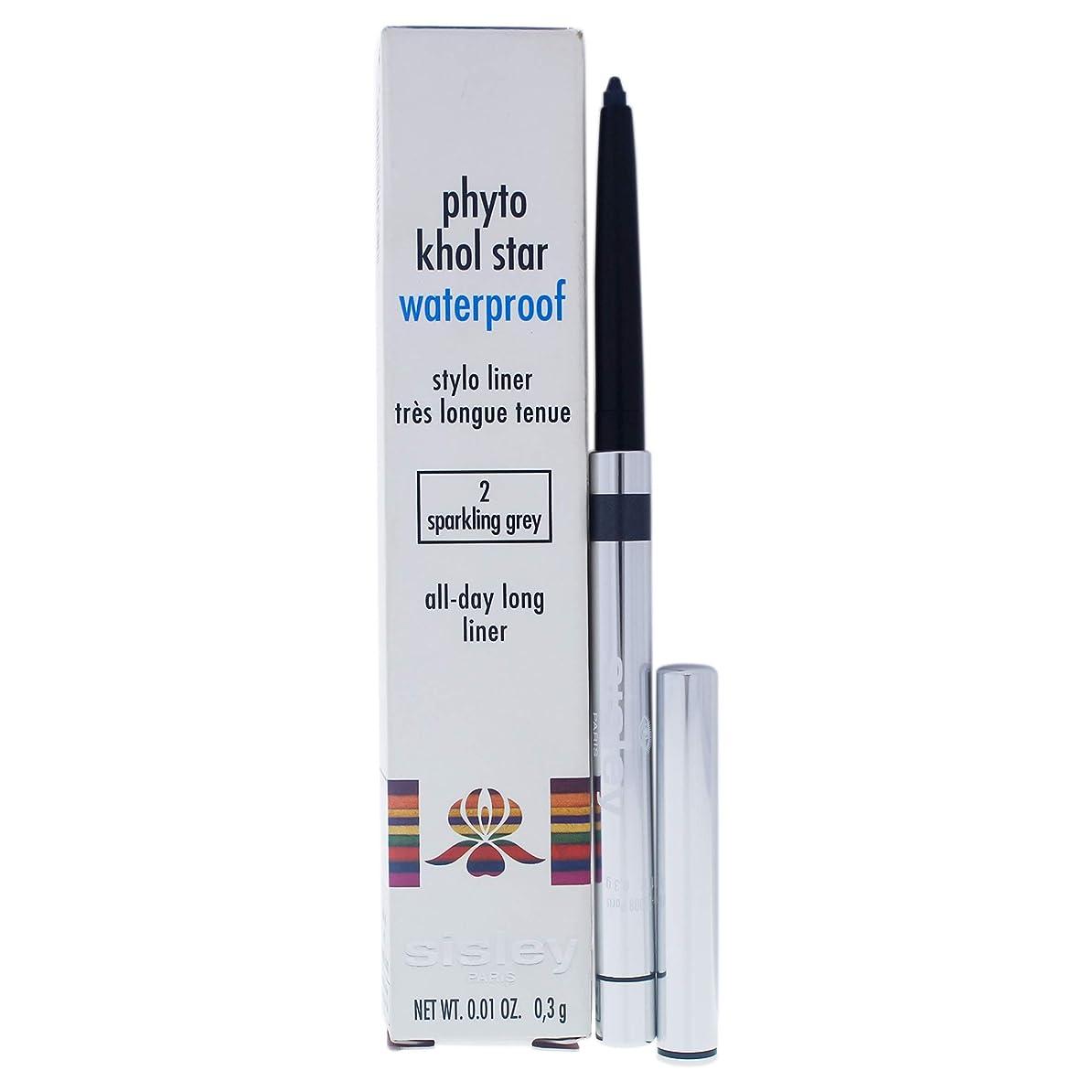 料理をするメンテナンスハプニングシスレー Phyto Khol Star Waterproof - # 2 Sparkling Grey 0.3g/0.01oz並行輸入品