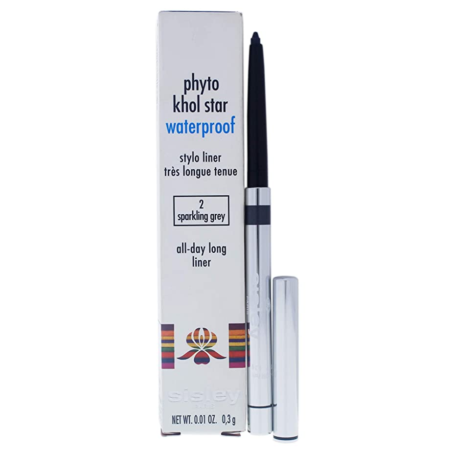 是正する自明ストライプシスレー Phyto Khol Star Waterproof - # 2 Sparkling Grey 0.3g/0.01oz並行輸入品