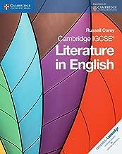 Best cambridge igcse literature in english Reviews
