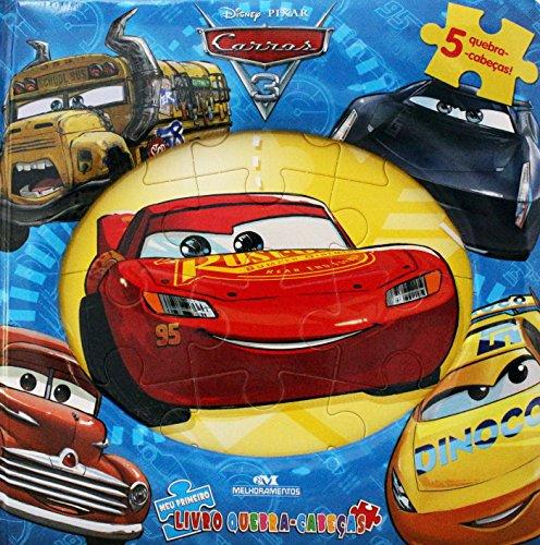 Carros 3: Meu Primeiro Livro Quebra-cabeças
