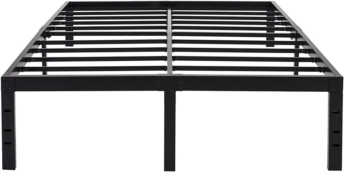 OFFicial mail order 45MinST 18 Inch Maximum Storage Frame Platform Recommendation Reinforced Bed 3