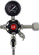 Kegco LHU51 Elite Series Single Gauge CO2 Draft Beer Regulator