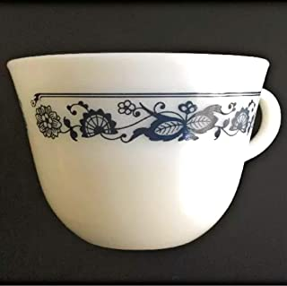 Pyrex Corning Old Town (Blue Onion) Coffee Cup and Saucer (Not Pictured) Set