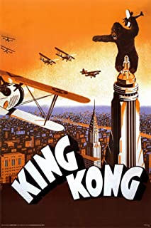 Picture Peddler Laminated King Kong Vintage Movies Poster 24x36 inch