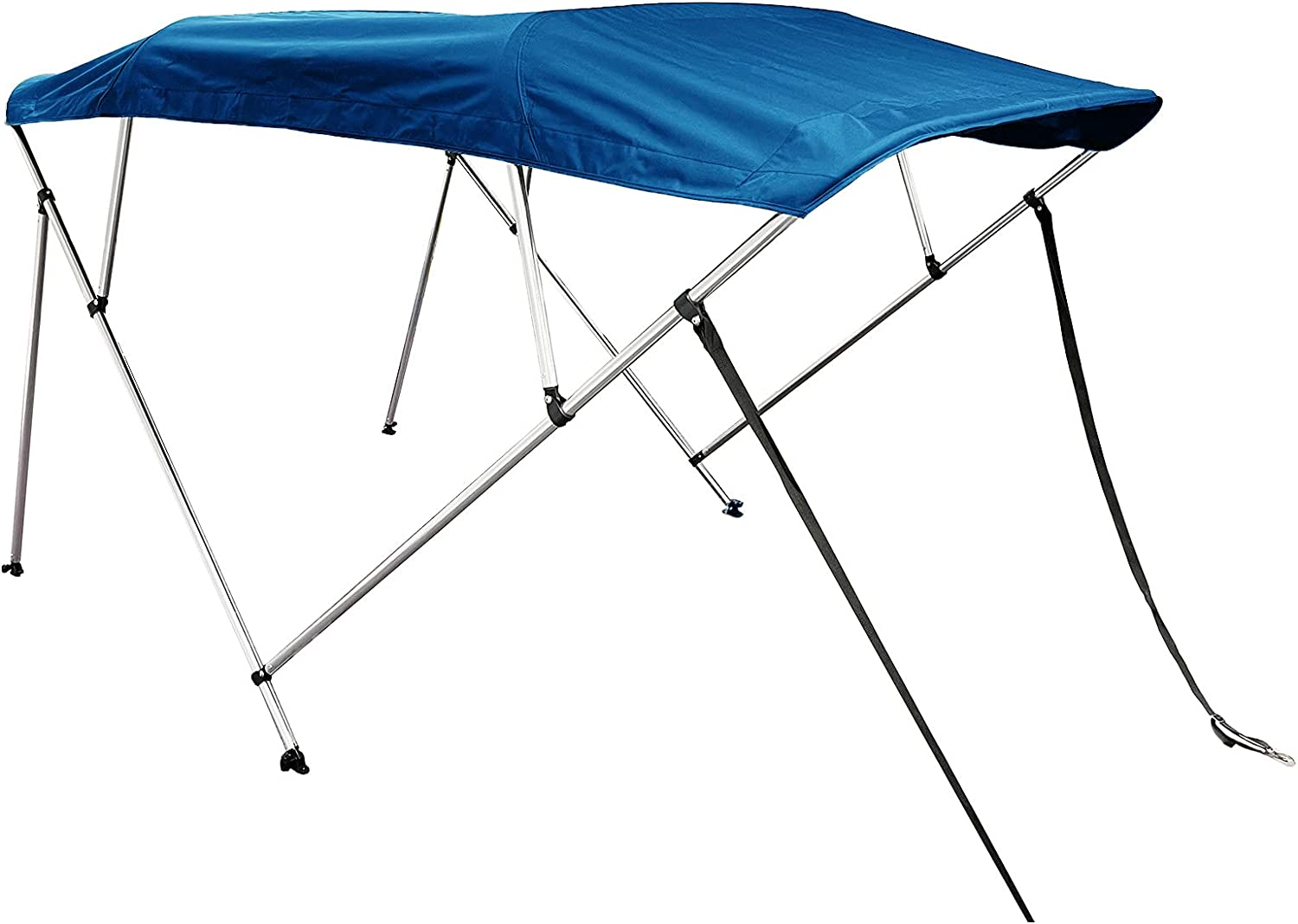 Savvycraft Dealing full price reduction 4 Bow Bimini Top Boat Inch Frame New life Aluminum wit Cover 1