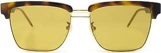 Luxury Fashion | Gucci Mens GG0603S006 Brown Sunglasses | Fall Winter 19