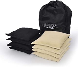 Weather Resistant Standard Corn Hole Bags, Set of 8 Regulation Cornhole Bags for Tossing Game