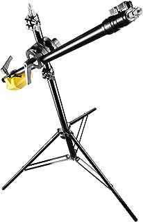 Walimex Pro WT-501 - Trípode con Soporte Tipo Jirafa para los Flashes de Estudio (Altura máxima de 175 cm y Capacidad de Carga de 5 kg) Color Negro