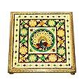 Vrindavan Bazaar Chowki Laminated Flower Design for Home…
