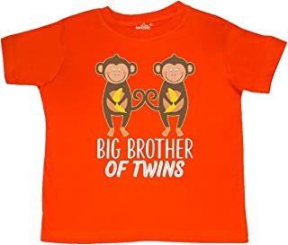 inktastic Brother of Twins Boys Gift Toddler T-Shirt