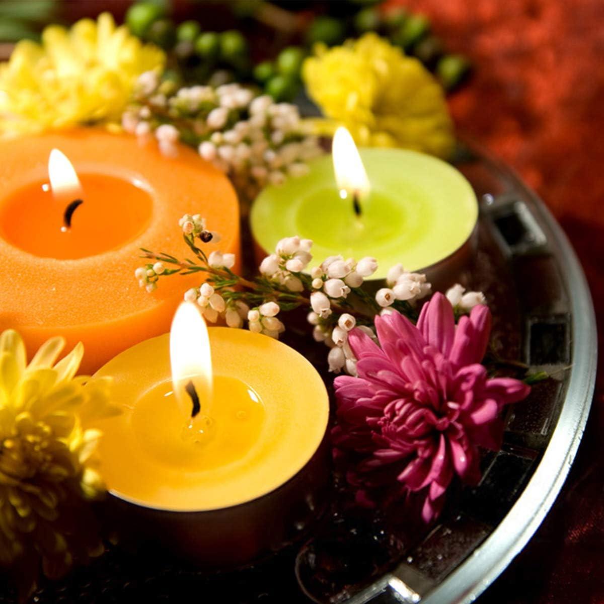 argent Lot de 30 bo/îtes /à bougies en m/étal de 113,4 g les loisirs cr/éatifs le rangement Pour la fabrication de bougies