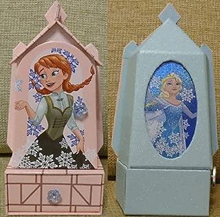 musical Disney Store Frozen Elsa Anna Jewelry Box - New