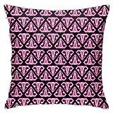 Hdadwy Womb Uterus Pink Throw Pillow Cover Funda de Almohada Decorativa Decoración para el hogar Funda de Almohada Cuadrada de 18x18 Pulgadas