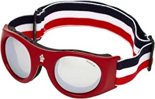 Moncler ML0051 RED/SILVER unisex Ski goggles