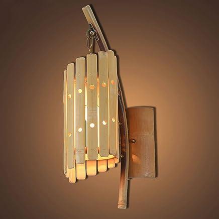 YJH+ 竹壁ランプ、レトロロフトレストラン店の装飾の壁ランプ廊下通路ライトガーメントショップカフェ照明ランプシングルE27、ハイ51cm 美しく、寛大な ( サイズ さいず : 51センチメートル )