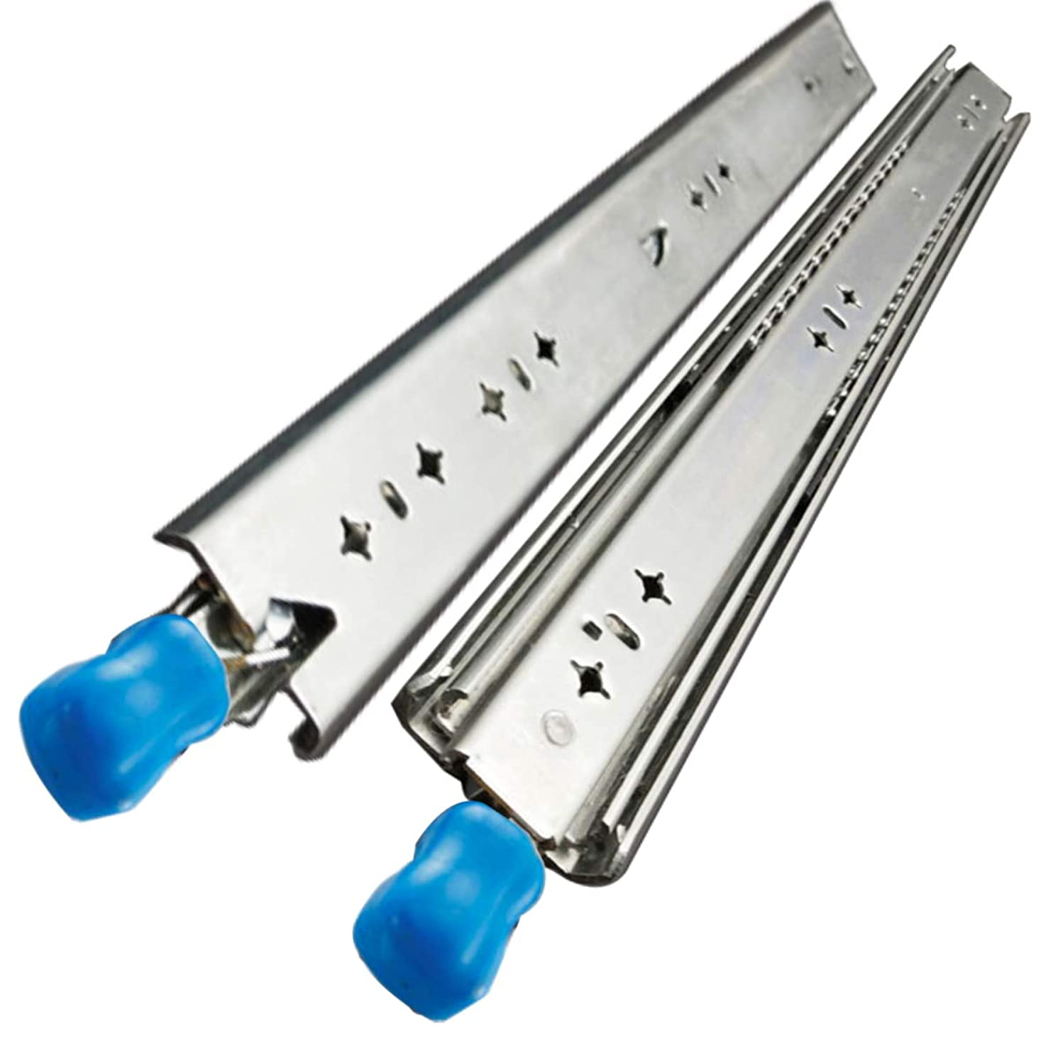 VADANIA Heavy Duty Drawer Slides, 32 Inch with Lock, Full Extension Ball Bearing, 1-Pair