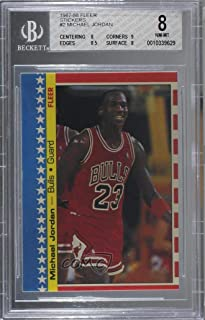 1987 michael jordan fleer sticker