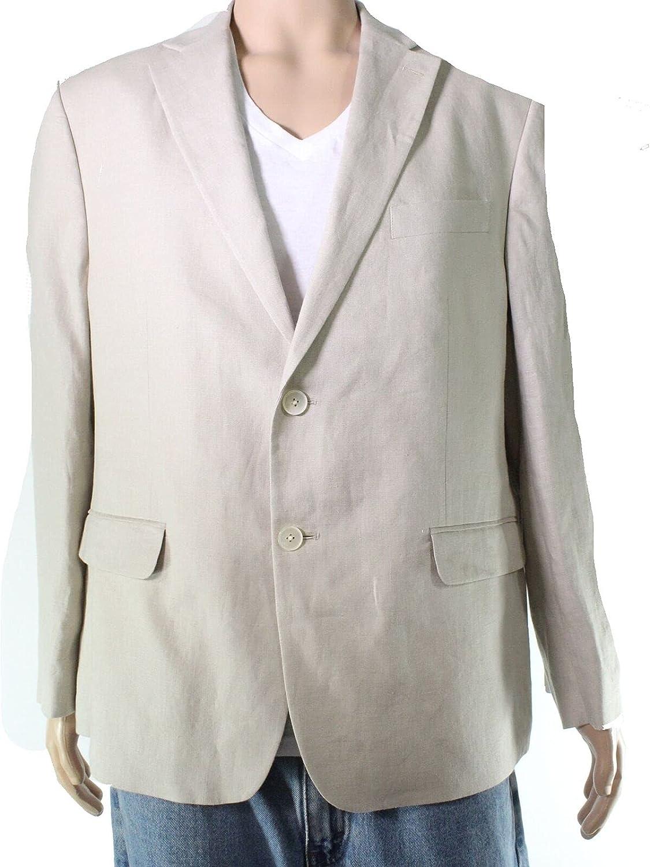 Lauren by Ralph Lauren Mens Suit Seperate 43 R Blazer Beige Not Specified