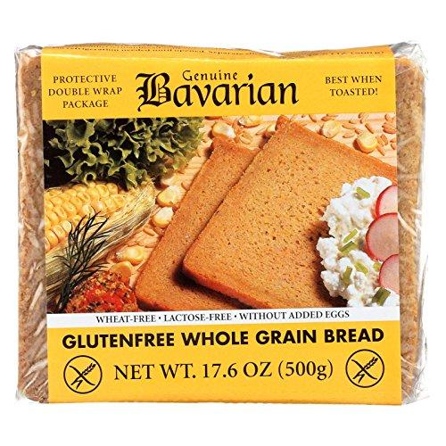 Genuine Bavarian Whole Grain Bread, 17.6 Ounce - 6 per case.