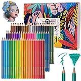 Matite colorate professionali che disegnano for la scuola 72 colori Le matite dell'acquerello hanno messo i regali della scuola di schizzo for i rifornimenti di arte della scuola matite colorate